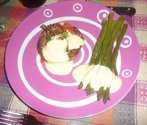 Hamburger alla Melrose, variante fuori porta